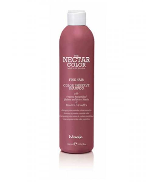 Nook Nectar Color Color Preserve szampon utrwalający kolor do włosów cienkich i normalnych