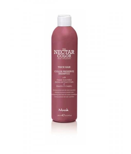 Nook Nectar Color Color Preserve szampon utrwalający kolor do włosów grubych i szorstkich