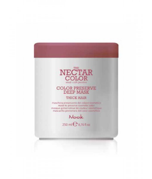 Nook Nectar Color Color Preserve maska utrwalająca kolor do włosów grubych i szorstkich