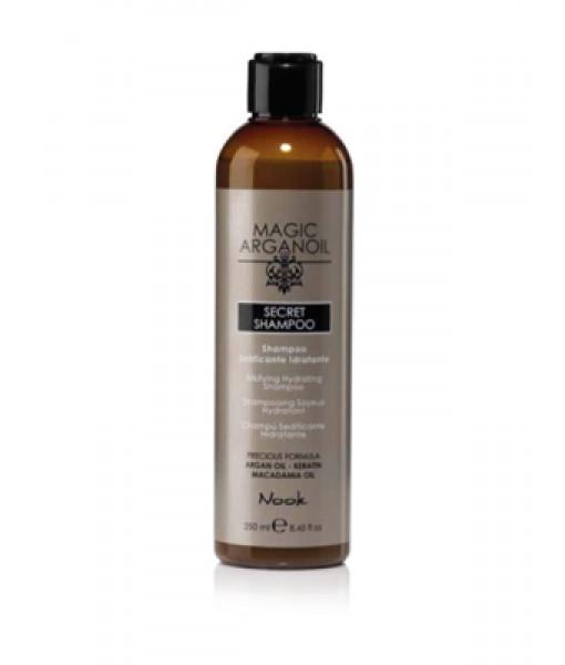 Nook Magic Argan Oil Secret jedwabisty szampon nawilżający