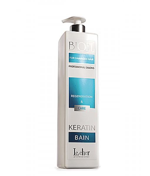Lecher Bioel Keratin Bain szampon regenerujący