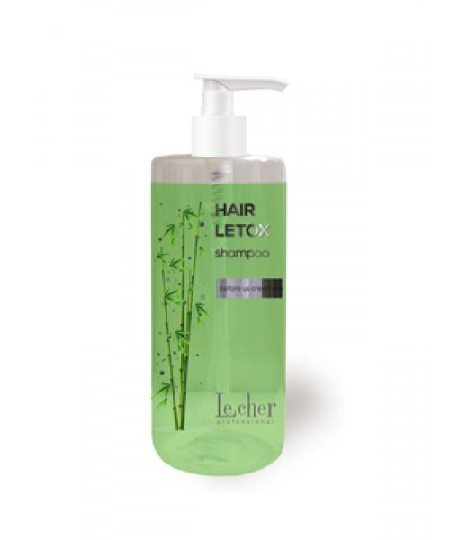 Lecher Hair Letox Shampoo szampon z ekstraktem z bambusa